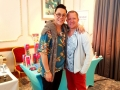 Gary Lloyd and Gok Wan