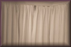 Grief - closed curtains